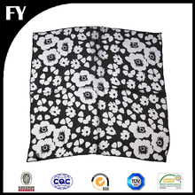 low MOQ and mixed style design silk pocket square fabric