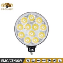 5 inch round led headlight 36w led work light KR5362 utility vehicle projector head light led light bulbs