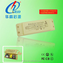 TUV UL isolated constant current led power supply 740mA 30W led driver for led panel light
