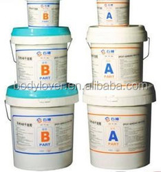 high temperature epoxy adhesive of red and green color
