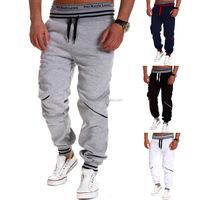 Men's Contrast Color Striped Leisure Sport Pants Outdoor Jogger Trousers