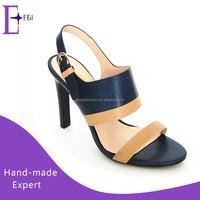 new design fancy ladies summer high heel sandals shoes women