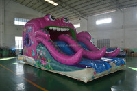 Lovely New Style Octopus Inflatable Slide