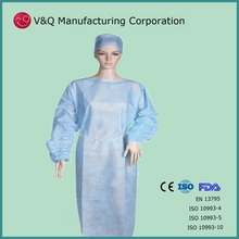 Nonwoven orient factory OEM manufacturer isolation gown