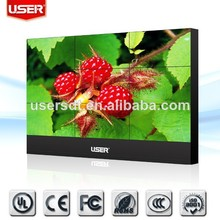 42\46\47\55\82 Inch DID ultra-narrow HD lcd video wall with CCC, FCC, CE, UL, RoHS