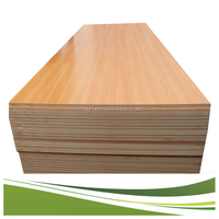 CE Standard High Density Wooden Grain Fiber Board