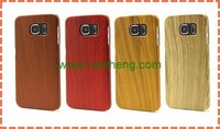 Wood Grain Hard PC Case for Samsung Galaxy S6, Back Cover Case for samsung s6