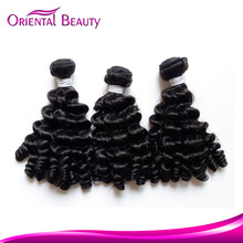 Double drawn gold supplier guangdong hair factory New Arrival 7A Virgin Fumi Hair,unprocessed peruvian vigin human weaving