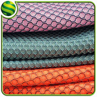 warp knitted hexagonal mesh fabric for shoes, pillow, bag, seat cover