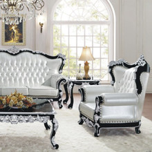 European style leather sofa,solid wood carving antique genuine leather sofa,living room leather sofa