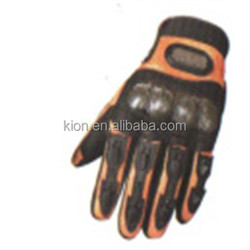 WATERPROOF FULL FINGER BLACK KEVLAR GOATSKIN LEATHER POLICE GLOVES