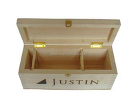 New Products:natural unfinished wood craft box/small plain craft boxes