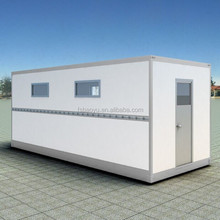 2015 new model prefab folding container house in luxury container house