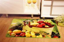 100% polyester made Printed door kitchen floor Mat