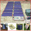 Portable flexible A-si solar energy system charge for solar panel