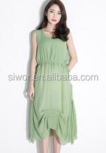 Latest Dress Designs Women Casual Dress Summer 2015 Mature Woman Elegant White Long Dress Fashion New