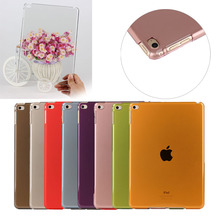 New model various colors pc cover for ipad air 2 best quality case back cover hard plastic
