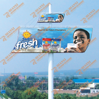High quality outdoor advertising steel signboard rotating pub sign