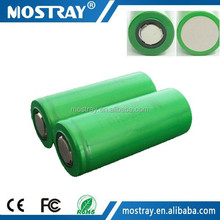 flat top us26650FTC1 us26650FT lifepo4 10C high discharge rate battery for sony us26650