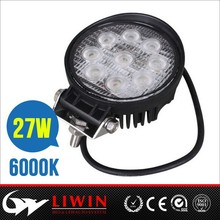 LW high quality auto accessories 27w led work light led tractor working lights worklight