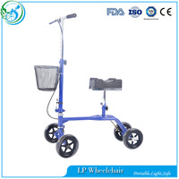 Foldable Disabled Knee Walkers Scooter For Sale
