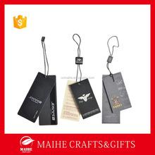2015 High Quality Custom Paper Clothing Tag,Clothing Hang Tag,Garment Tag
