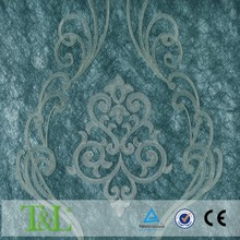 Beautiful home decoration embroidery wallpaper
