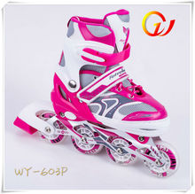 Aluminum chassis speed well derby skate,quad roller skates