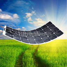 PV solar panel,50Watt flexible solar module in shenzhen factory benable solar