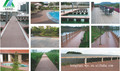 Modern design house wood plastic composite wpc decking piscina/made in china decking de wpc piso tábua