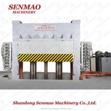 china plywood making machine hot press woodworking machine/laminating press lathe/Furniture melamine paper hot press