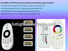 2014 newest wifi milight iphone rgb led controller,common anode 12v or 24v touch ring sensitivity remote rgb controller