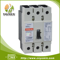 Manufacturer 100A 3-POLE molded case circuit breaker GWF-125/3P-100 MCCB