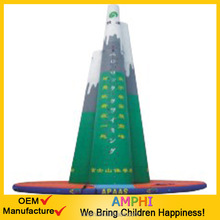 China supplier green mountains Inflatable climbing mountains
