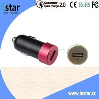 NEW Mini 9V 2A Double-side insert USB Car Charger