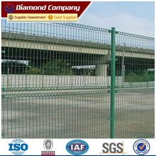 double circle welded wire mesh fence