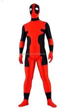Fancy Dress Party lycra spandex zentai halloween cosplay deadpool costume QAMC-2155