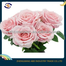 table wedding decoration artificial latex flowers imported from china