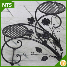 NTS Exalted Metal Decor Wronght Iron Flower Stand