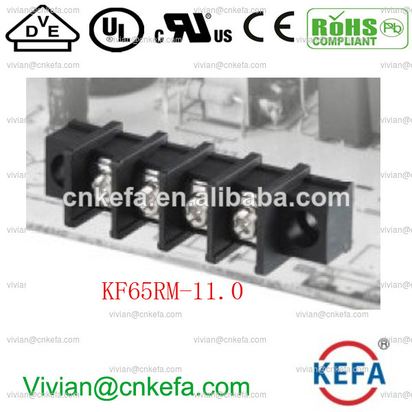 30a провод разъем платы барьер терминальный блок 11mm забор терминальный блок разъем бент контактный разъем с фланцем