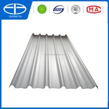 Waterproof UPVC Plastic trapezoid corrugated roof tile /PVC Roof sheet/ pvc roof panel