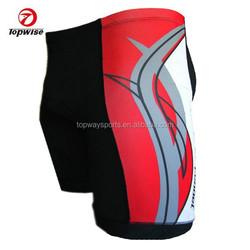 OEM sublimation cycling shorts padded lycra bike shorts