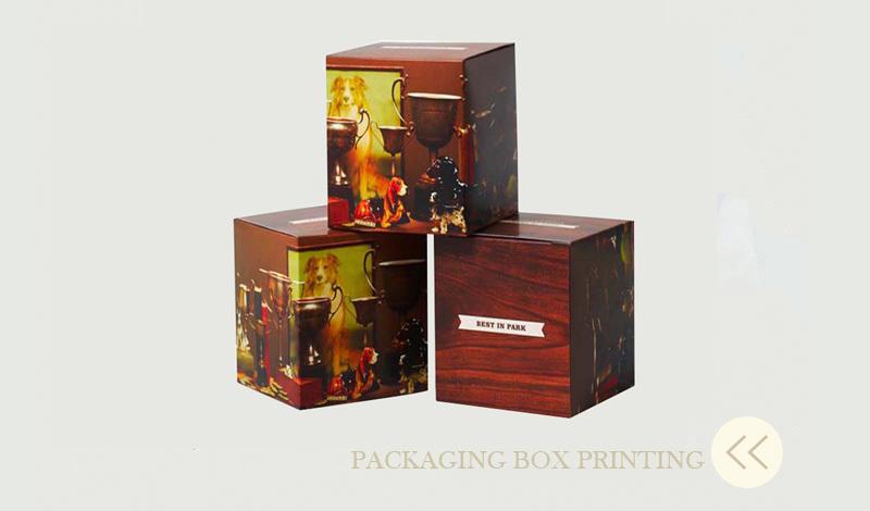 design personalizado eco friendly cartão impressão de cor caixa