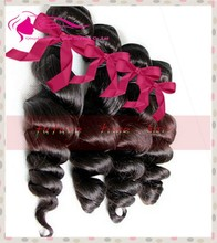 Wholesale 100% Unprocessed Brazilian Virgin Human Hair Weave Bundles Loose Wave Wefts 100g Natural Black Hair Extensions
