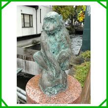 antique bronze monkey statues