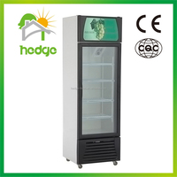 glass showcase for sale commercial beverage cooler 1-Door Refrigerated Showcase display fridge second hand