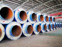de alta densidad de la espuma de poliuretano láminadealuminio caliente de aislamiento de tuberías de vapor
