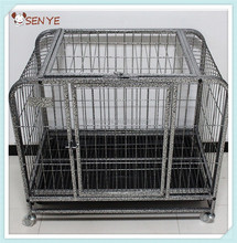 Folding Dog case Iron dog case overstriking Iron square tube cage