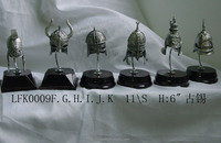 Hot sale action figure pewter warrior business gift metal warrior