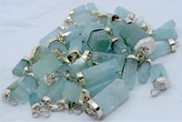 (IGC)Natural Black Aquamarine Crystal